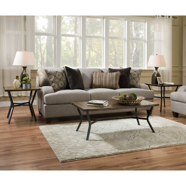 Simmons Upholstery Geaux Sterling Sofa Bed by Three Posts