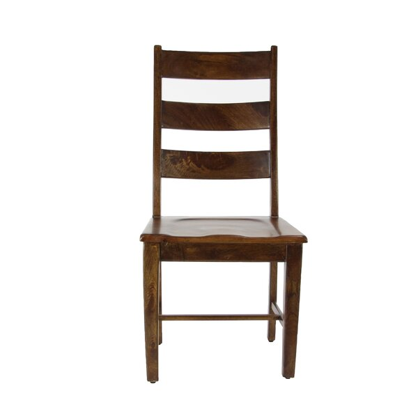 Devon Traditional Mango Solid Wood Dining Chair by Union Rustic