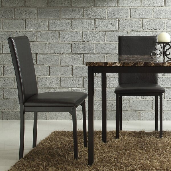 Tomah Upholstered Dining Chair (Set of 2) by Orren Ellis