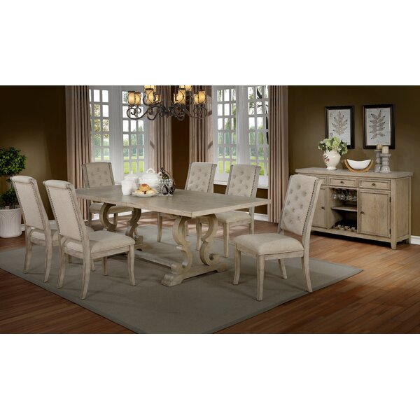 Zechariah 7 Piece Dining Set by Darby Home Co