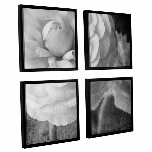 Dark 1 by Judy Stalus 4 Piece Framed Photographic Print Set by August Grove