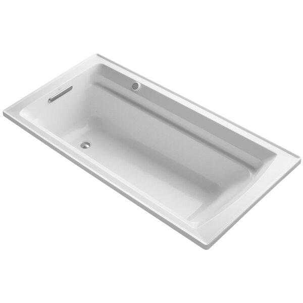 Archer Bubblemassage 72 x 36 Soaking Bathtub by Kohler