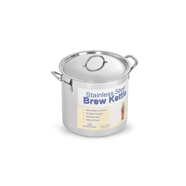 Polar Ware Stainless Steel Brew Pot with Cover by Artisan