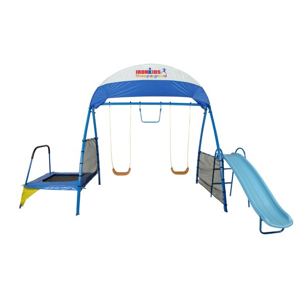 Premier 100 Fitness Swing Set by IronKids