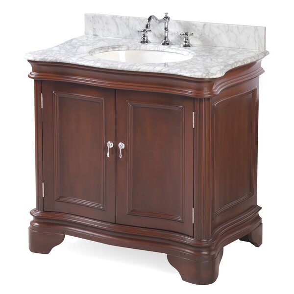 Katherine 36 Single Bathroom Vanity Set by Kitchen Bath Collection