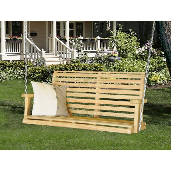 Christa Classic Porch Swing by Rosecliff Heights