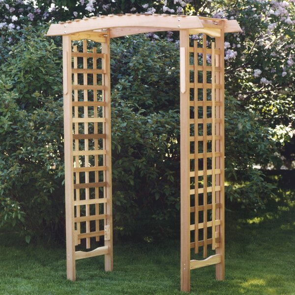 Garden Wood Arbor by All Things Cedar