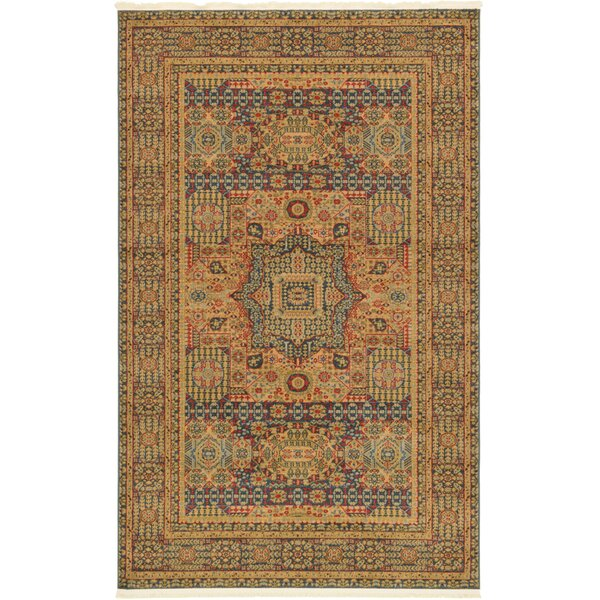 Laurelwood Blue Area Rug by Astoria Grand