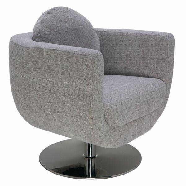 Simone Swivel Barrel Chair