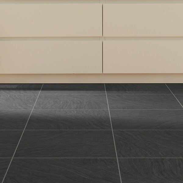 Renaissance 18 x 18 x 2.5mm Luxury Vinyl Tile in Midnight by Shaw Floors