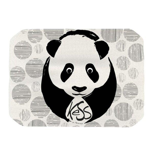Panda Placemat by KESS InHouse