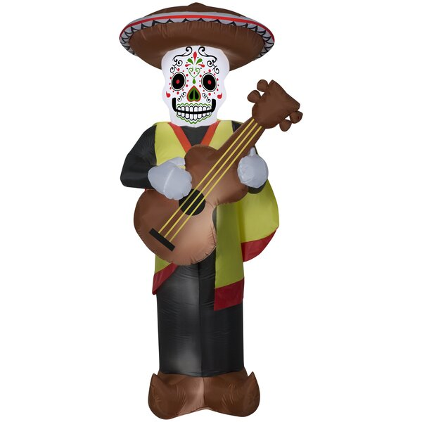 Day of the Dead Man LG Inflatable by The Holiday Aisle