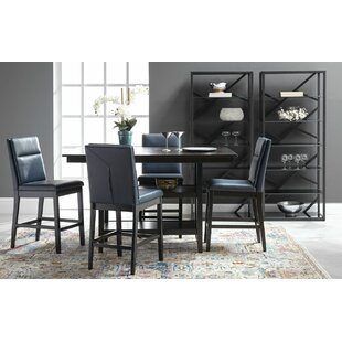 Lawing 5 Piece Counter Height Pub Table Set ByLatitude Run