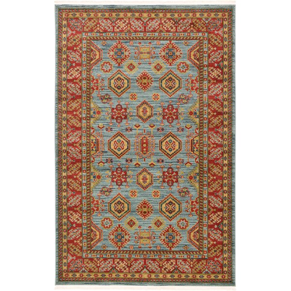 Valley Red Area Rug by World Menagerie
