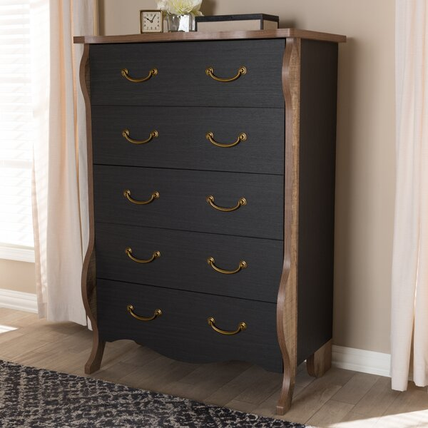 Huntsberry 5 Drawer Chest by August Grove