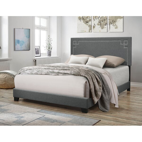 Janes Upholstered Standard Bed by Everly Quinn
