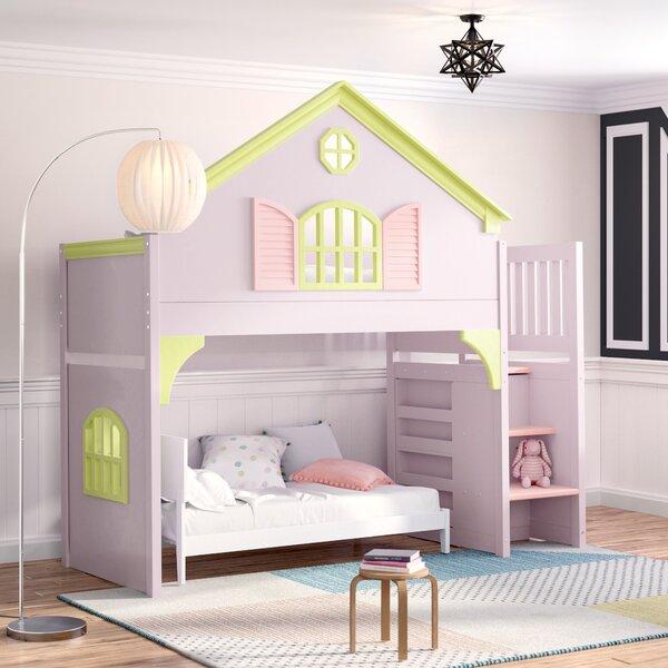 Izquierdo Twin Over Twin Bunk Bed by Zoomie Kids