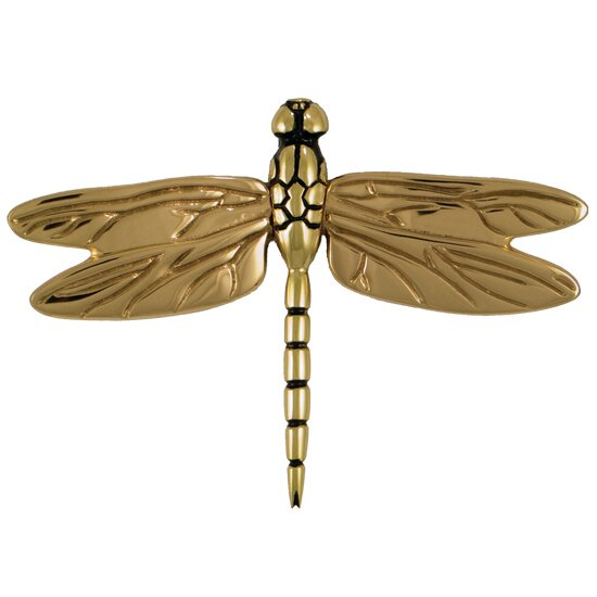 Dragonfly in Flight Door Knocker by Michael Healy Designs