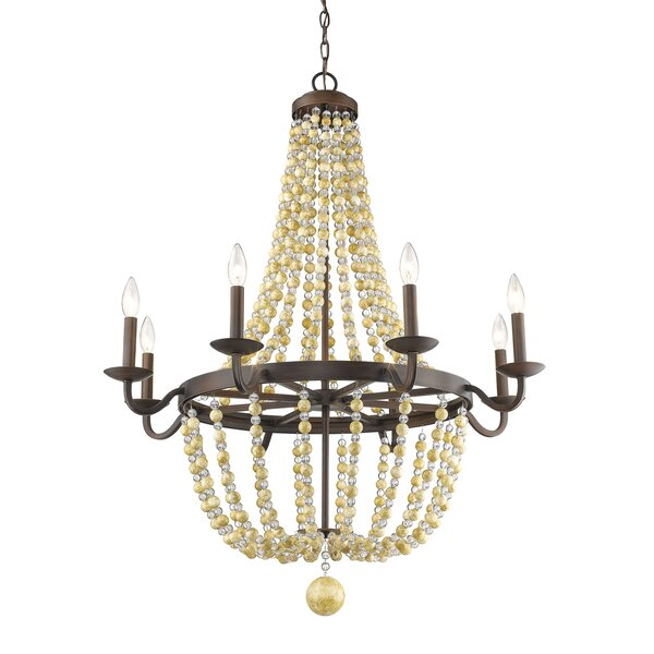 Prather 8-Light Empire Chandelier by Bay Isle Home