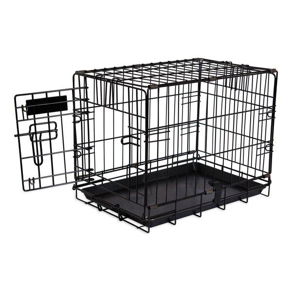Jeffords Single-Door Home Training Pet Crate by Tucker Murphy Pet
