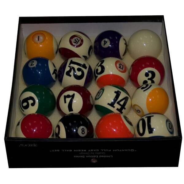 Wall Eye Pool Ball Set by Mr. Billiard