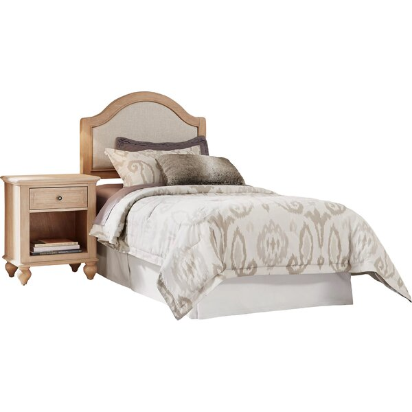 Romford Standard 2 Piece Standard Solid Wood Configurable Bedroom Set by Three Posts