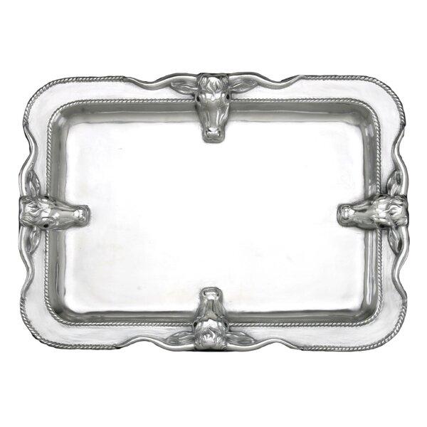 Western Longhorn Platter by Arthur Court Designs