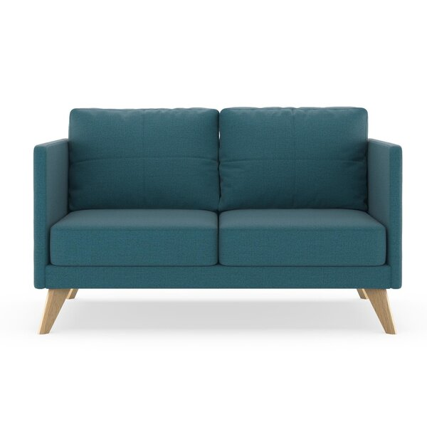Coyle Oxford Weave Loveseat by Corrigan Studio