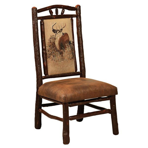 Quevedo Solid Wood Dining Chair By Loon Peak