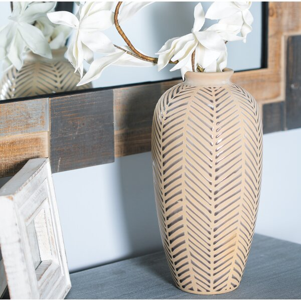 Goodfellow Stoneware Table Vase by Bungalow Rose