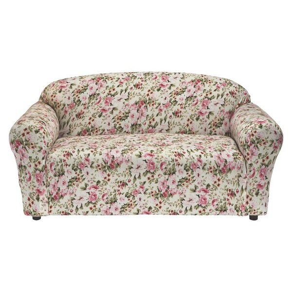 Lincoln Box Cushion Loveseat Slipcover By Latitude Run