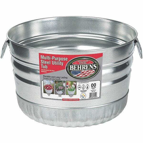 Steel Pot Planter by Behrens Manufacturing