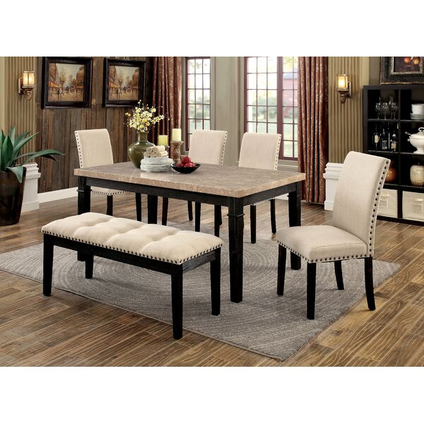 Reagle 6 Piece Dining Set by Red Barrel Studio