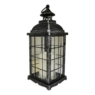 Rausch Battery Operated 1 Light Led Outdoor Hanging Lantern