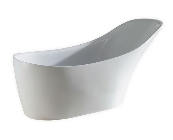 Victorian 67'' x 29 Soaking Bathtub by Kube Bath