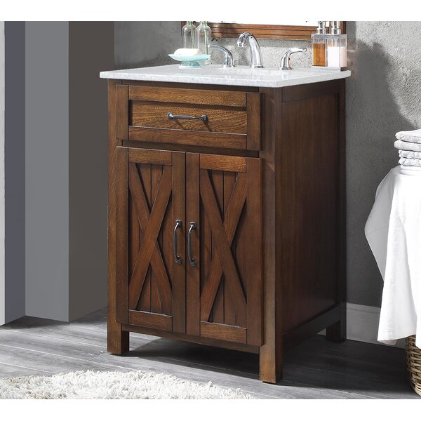 Maud 24 Single Bathroom Vanity Set by Millwood Pines