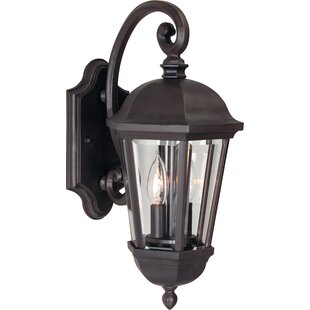 Oakhill 2-Light Bronze Outdoor Wall Lantern By Charlton Home Outdoor Lighting