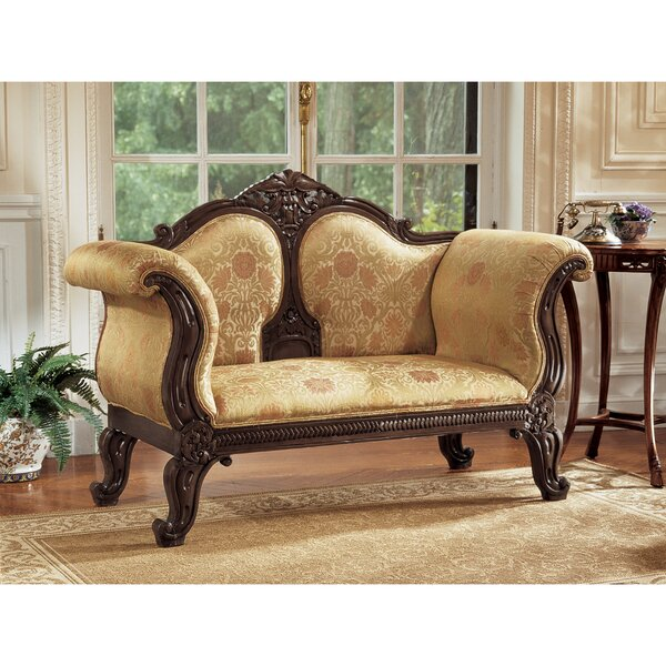 Nice And Beautiful Abbotsford House Loveseat by Design Toscano by Design Toscano
