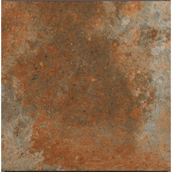 Terranova Cotto Glazed 6 x 6 Porcelain Field Tile in Terra Cotto by QDI Surfaces