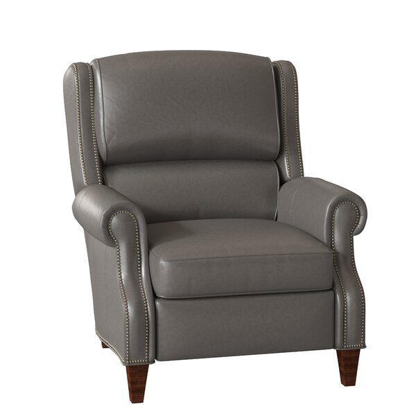 Huss Leather Recliner by Bradington-Young Bradington-Young