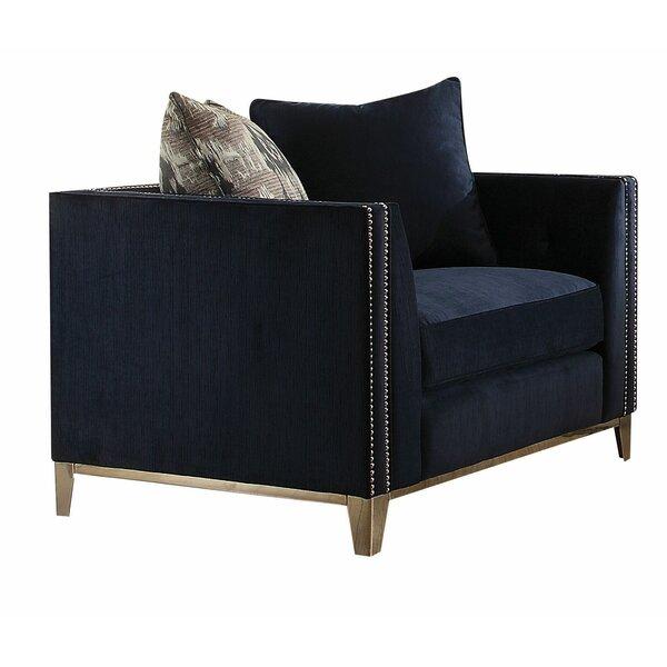 Amaral Vintage Armchair by Everly Quinn