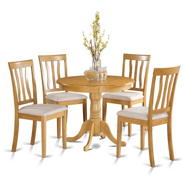 Stowell 5 Piece Dining Set by Charlton Home Charlton Home