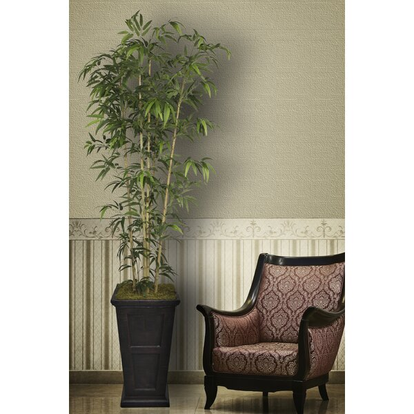 Tall Bamboo Tree in Decorative Vase by Bloomsbury Market