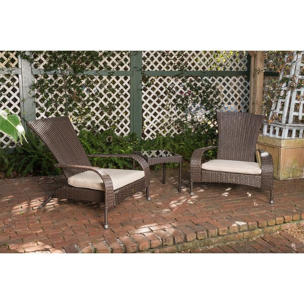 Coconino 3 Piece Seating Group with Cushions by PatioSense