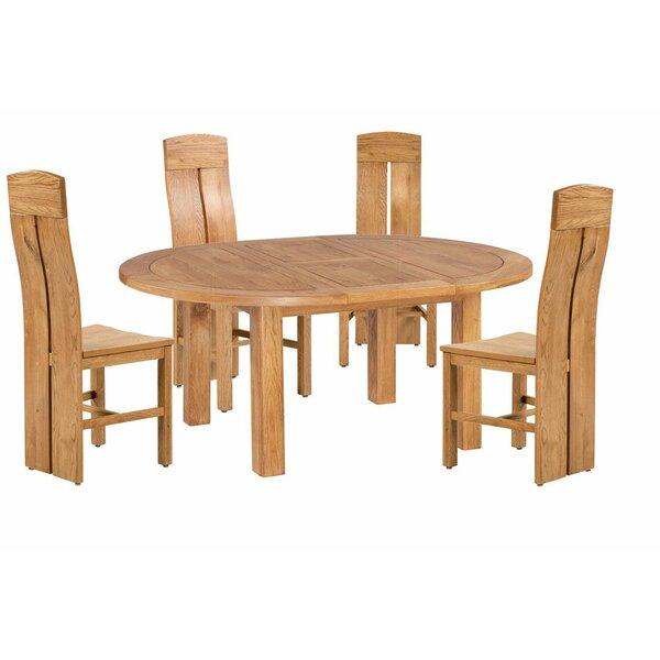 Kiazolu 5 Piece Extendable Dining Set by Loon Peak