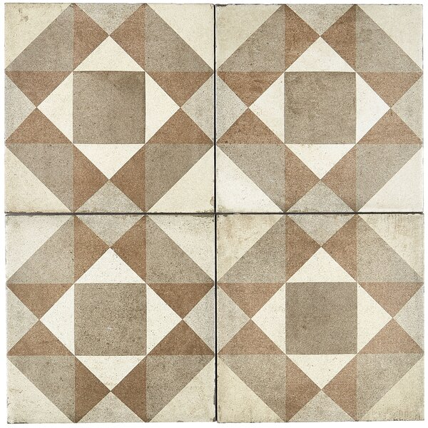 8 x 8 Porcelain Field Tile in Figura by Itona Tile