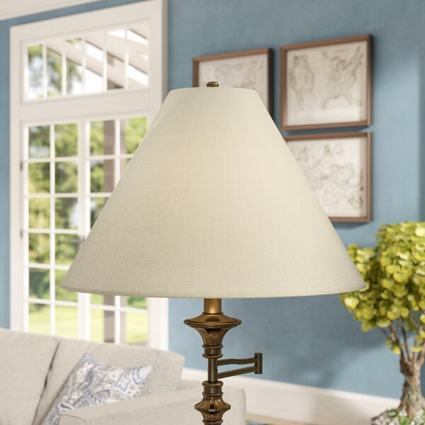 21 Linen Empire Lamp Shade by Darby Home Co