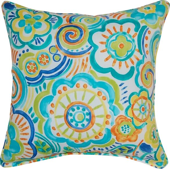 Port Saint Lucie Throw Pillow (Set of 2) by Bay Isle Home