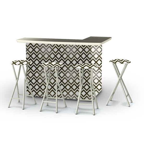 Patio 8 Piece Bar Set by Best of Times Best of Times