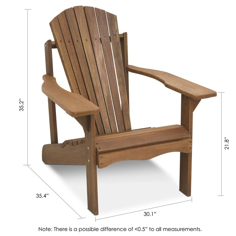 Amazing Arianna Solid Wood Adirondack Chair